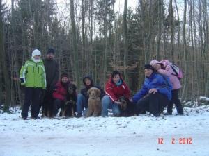 Unser Winterspaziergang, ein