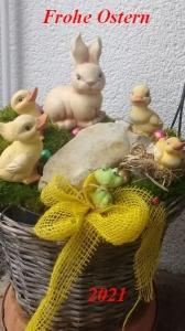 Wir wünschen friedvolle Ostertage und Gesundheit.