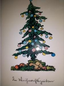 In Weihnachtszeiten, von Hermann Hesse